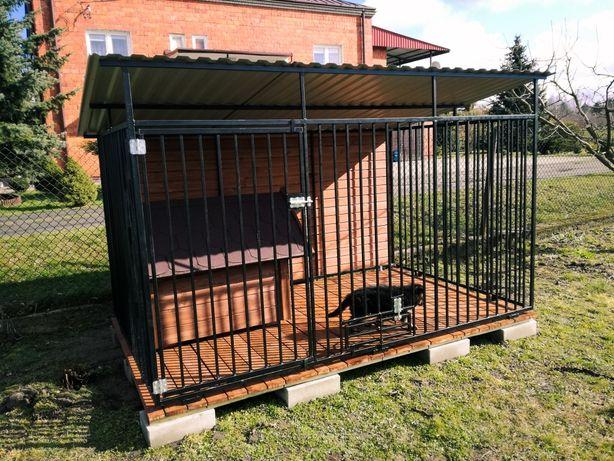 Kojec dla Dużego Psa Stalowy Spawany Budy Kojce PRODUCENT TRANSPORT