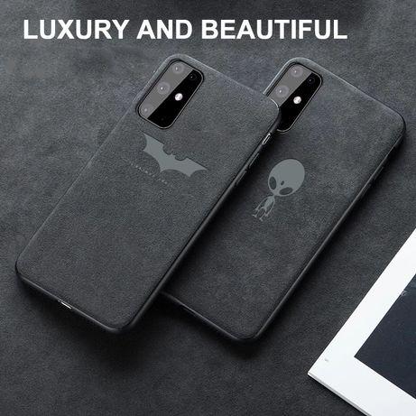 VENDO Capa em alcantara para Samsung Note 10 Plus