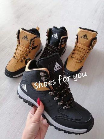 Śliczne buty męskie nowe zimowe camel i czarne