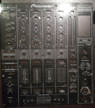Pioneer djm 800 front - panel przedni orginał z 2008