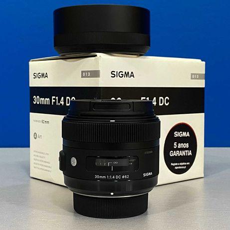 Sigma ART 30mm f/1.4 DC HSM (Nikon) - NOVA - 5 ANOS DE GARANTIA