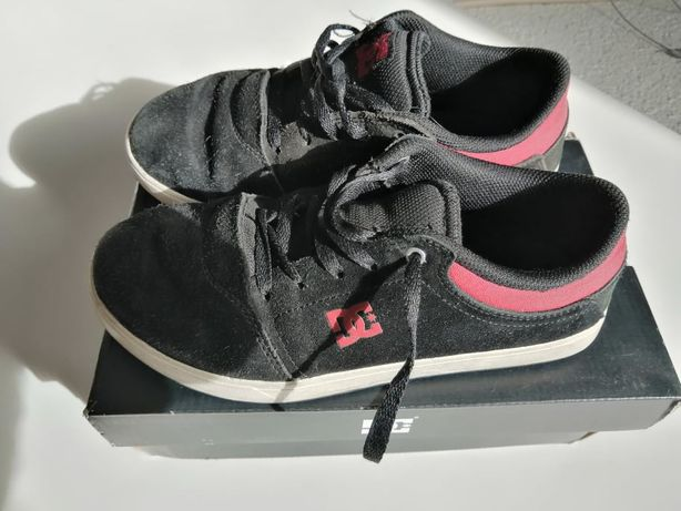 Ténis DC Shoes Black / Red #36