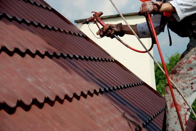Malowanie mycie Dachów pokryć dachowych