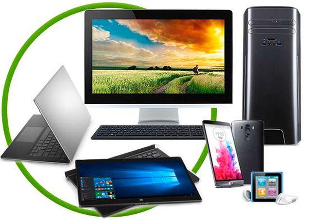 Ремонт ноутбуков, телефонов, планшетов, телевизоров