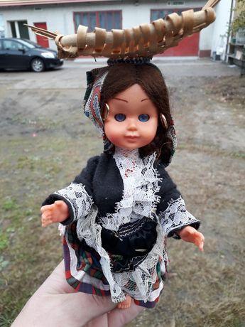 Lalka z PRL cyganeczka zabawka