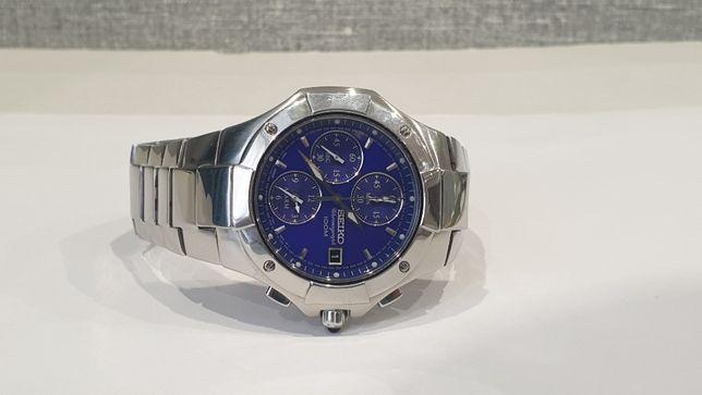 Мужские часы Seiko 7t62-0dp0 Sapphire , Alarm
