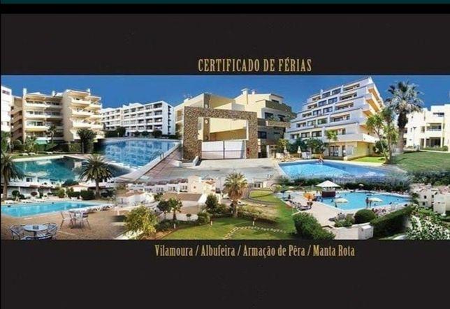 Certificado de férias em Vila Moura Algarve