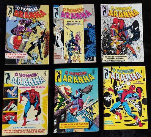 BDs Marvel - O homem aranha nº 74 a 79.
