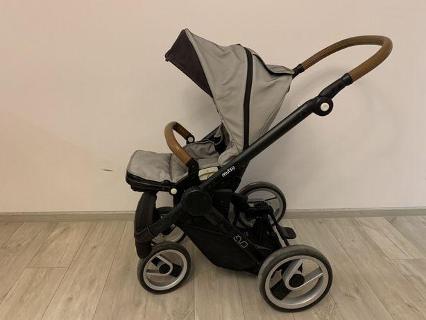 Детская коляска Mutsy EVO 2в1 +теплый конверт, дождевик