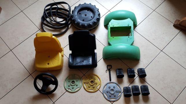 Siedzenie rolly toys  koła błotnik Traktorek Rolly Toys