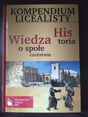 Kompendium licealisty Historia i Wiedza o społeczeństwie