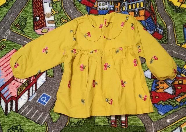 Тёплые нарядные платья для девочки