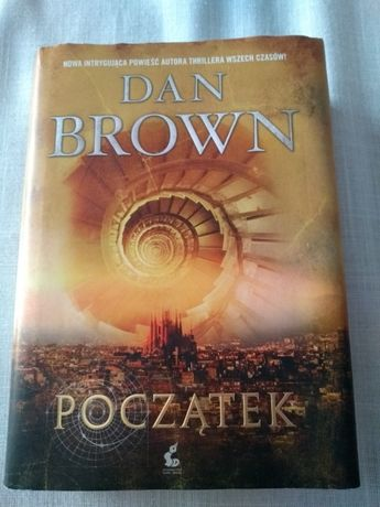 Początek Dan Brown książka twarda oprawa