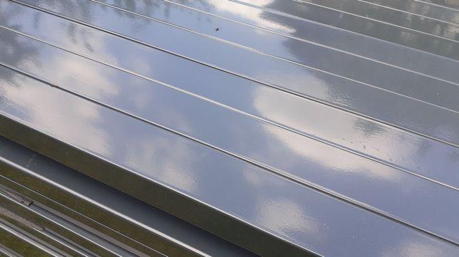 Słupki 60x40 TRANSPORT 2,3 m slupek do paneli ogrodzeniowych zielony