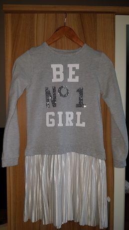 Sukienka dziewczęca sportowa