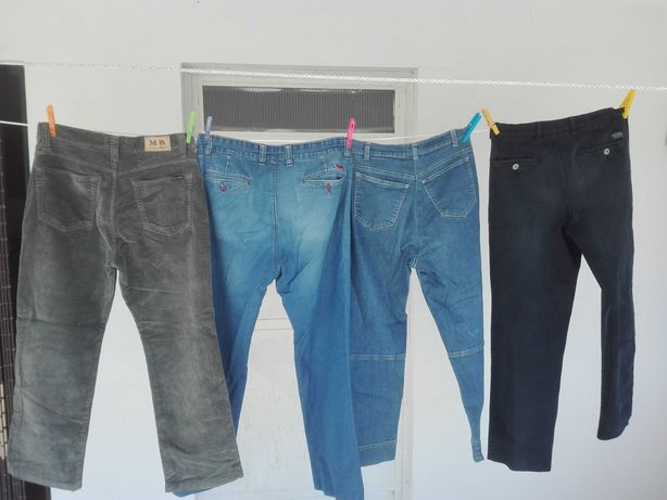 Lote 4 calças usadas nº 40