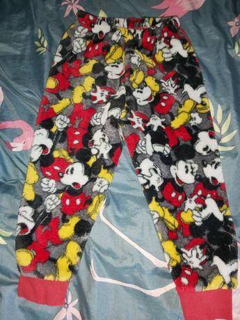 Ciepłe,grube spodnie Miki 98cm