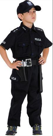 Strój karnawałowy Policjant r.110-116