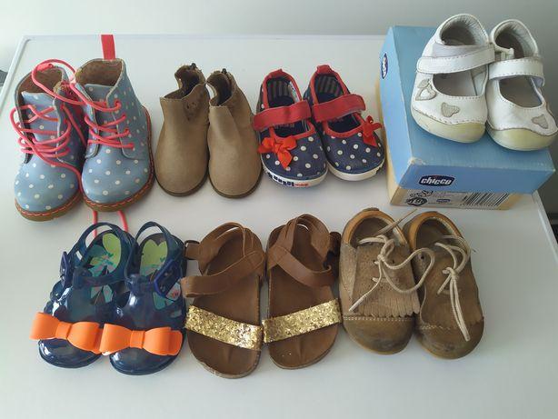 Carneirinhas e sapatos chicco tamanho 19