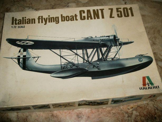 Kit Modelismo avião Cant Z 501 da Italaeri à escala 1/72