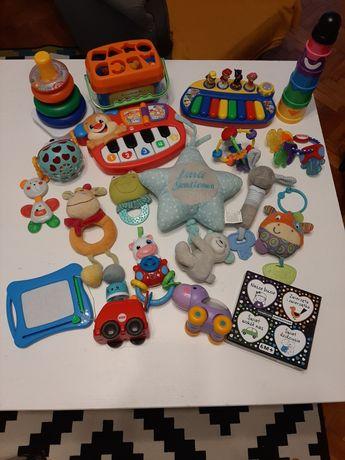 Zabawki niemowlę dziecko