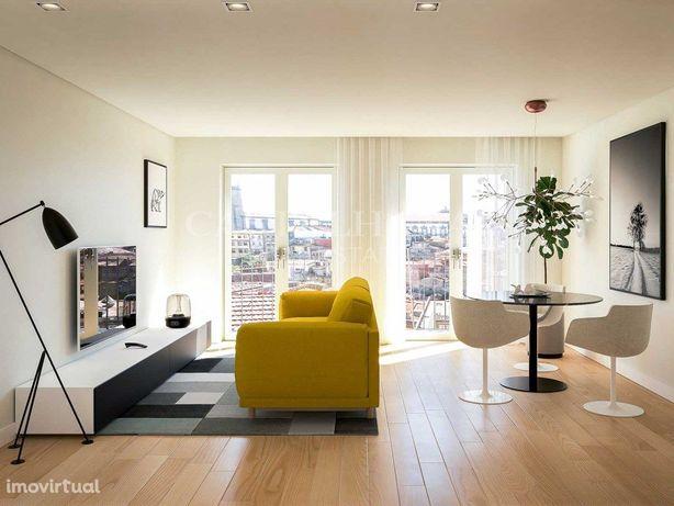 Apartamento T1 com varanda no centro do Porto