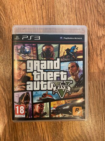 GTA 5 - PS3 PlayStation 3 gra
