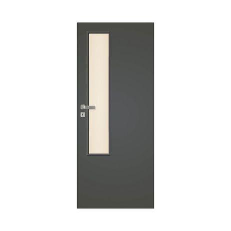 Drzwi + ościeżnice pol-skone HAPTIC 00 i 04 Bezprzylgowe antracyt