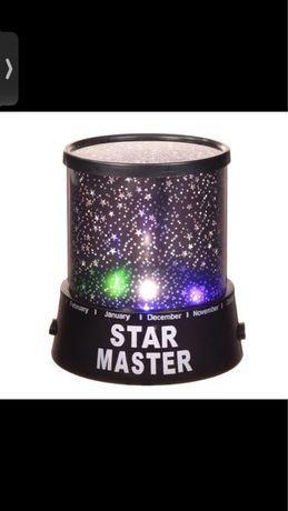Дитячий світильник нічне небо на батарейках Старий Майстер Star Master