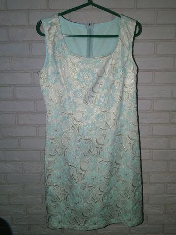Elegancka sukienka weselna r 38