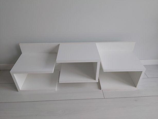 Biała półka tchibo 100x30