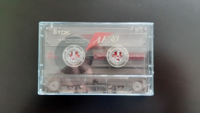 Касета TDK AE 30 (Release year: 1996)