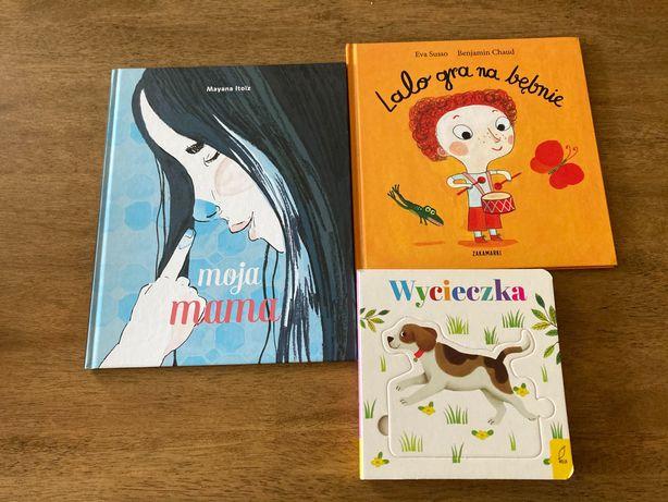 3 książeczki dla malucha