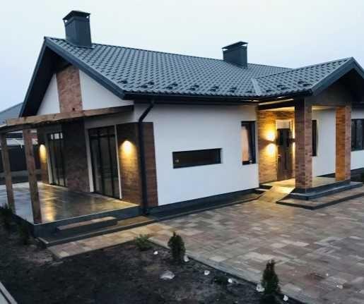 1-этажный качественный дом в Лесной Буче на 6 сотках