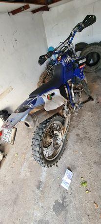 Vendo Yamaha wr400 com fato e botas