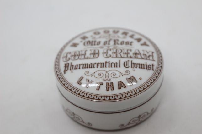 Caixa Regaleira 6 cm Vista Alegre M. Farmácia Gold Cream