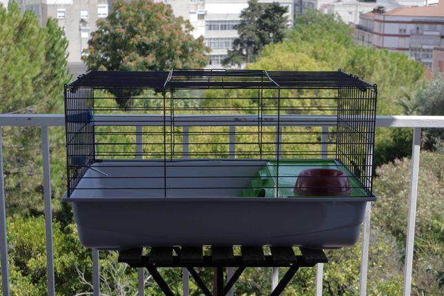 Gaiola para coelhos - Savic Nero 2 De Luxe - 80x50x45cm