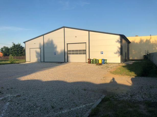 Hala magazynowa 400m2 z działką usługową 2500 m2