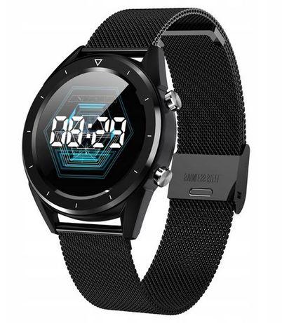 PROMOCJA! Zegarek męski SMARTWATCH DT28 EKG Ciśnienie Puls Kroki IP68