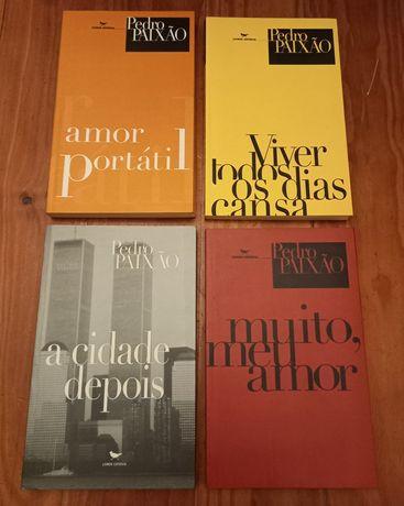 Pedro Paixão - 4 livros (vendem-se separado)