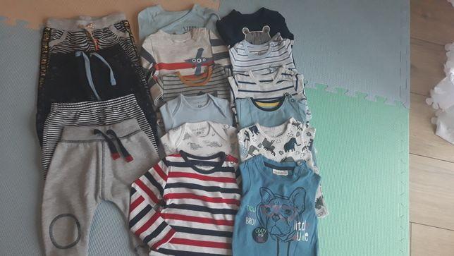 Ubranka dla niemowlaka 62 i 68