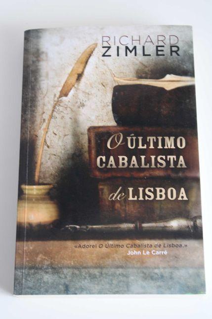 """livro- """" O último cabalista de Lisboa"""" ( com portes incluídos)"""