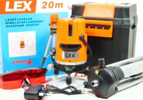 20 метров Лазерный уровень, (нивелир) LEX LXNL01+ШТАТИВ В ПОДАРОК!