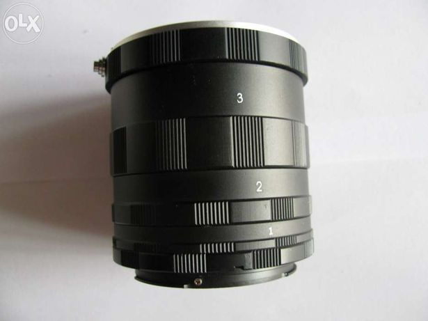 Tubos de extensão para macro para Canon DSLR