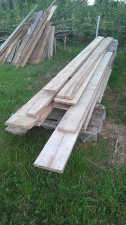 Deski szalunkowe używane po jednej budowie
