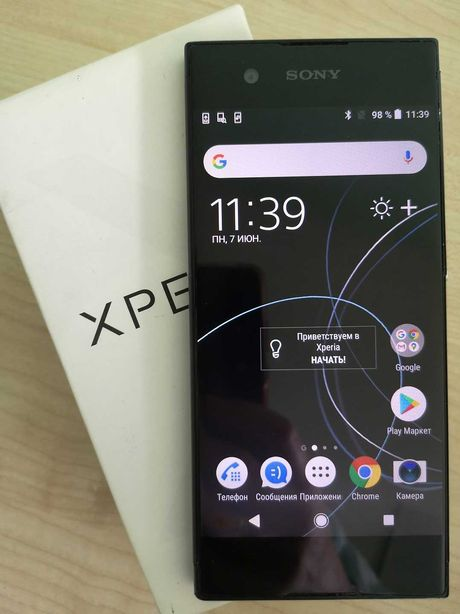 Смартфон Sony Xperia XA1 Ultra (38237) Уценка