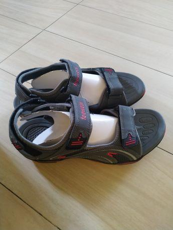 Sandały męskie Feewear szaro czerwone 44