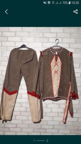 Карнавальный костюм индейца 9-12лет, хеллоуин