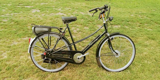 Rower holenderski Spartamet z silnikiem spalinowym Sachsa
