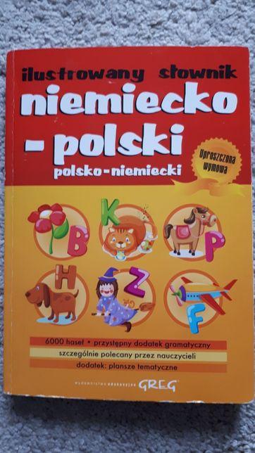 Ilustrowany słownik niemiecko-polski i polsko-niemiecki Greg